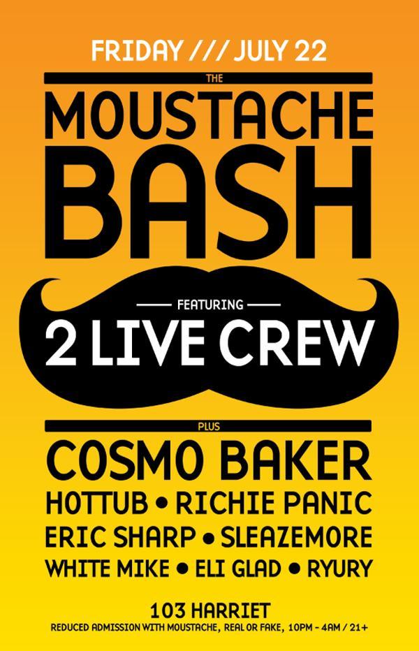Moustache-bash